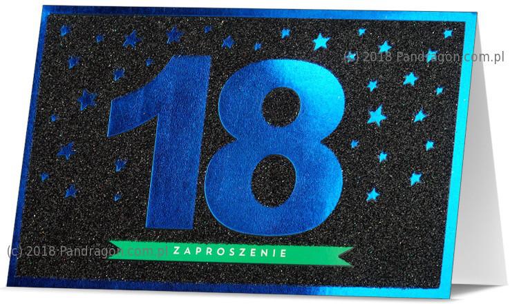 Zaproszenia na 18 urodziny / Z.STAR-25