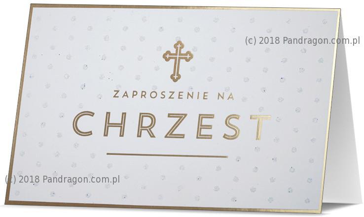 Zaproszenia na Chrzest Święty / Z.STAR-19