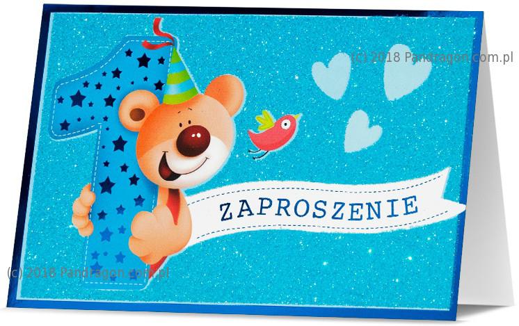 Zaproszenia na Roczek / Z.STAR-42