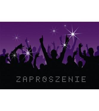 """Zaproszenia """"Na imprezę"""" / ZZ-007"""