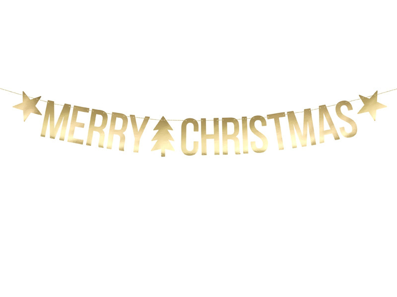 "Girlanda ""Merry Christmas"" / GRL53-019M"