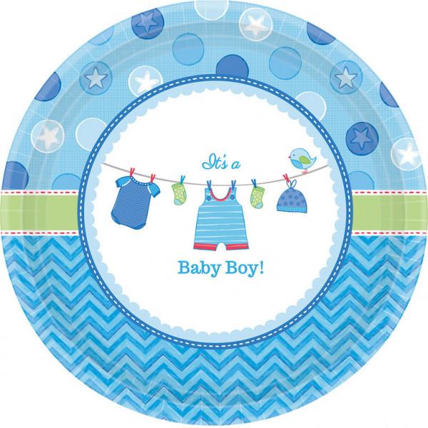 """Talerzyki na Narodziny dziecka """"Baby Boy"""" / 26,6 cm"""