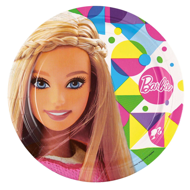 """Talerzyki """"Barbie"""" / 23 cm"""