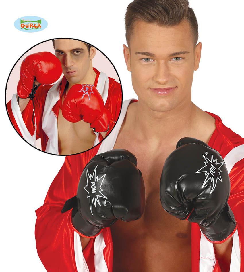Rękawice bokserskie dla dorosłych, czerwone