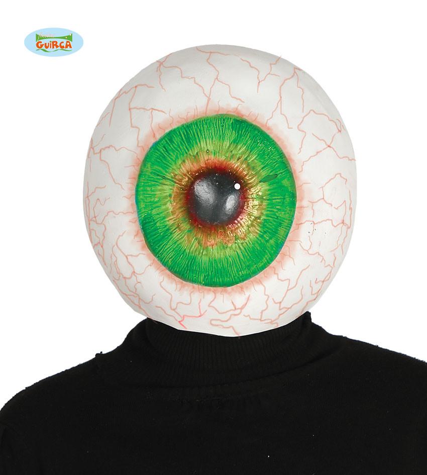 """Maska na Halloween """"Przekrwione Oko"""""""