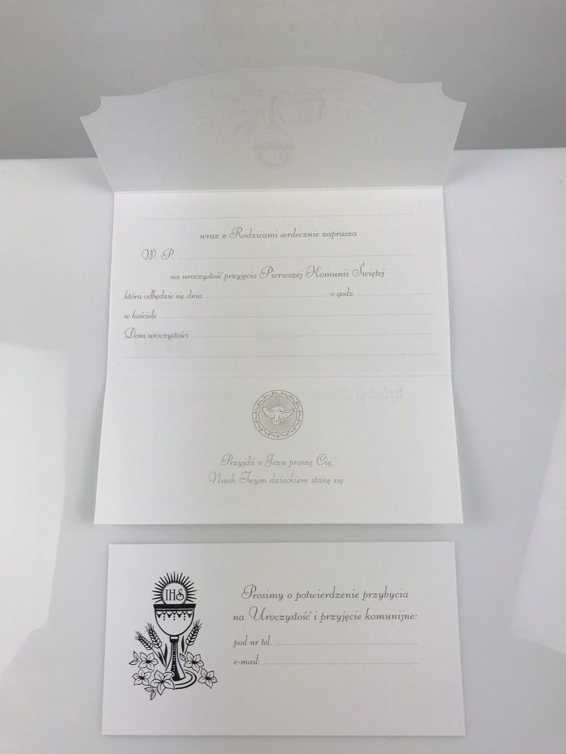 Zaproszenia komunijne na I Komunię Świętą / 6999