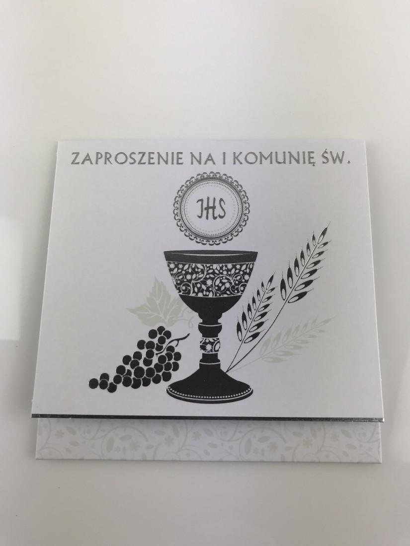Zaproszenia Komunijne na I Komunię Świętą / ZKW_KOM_39979