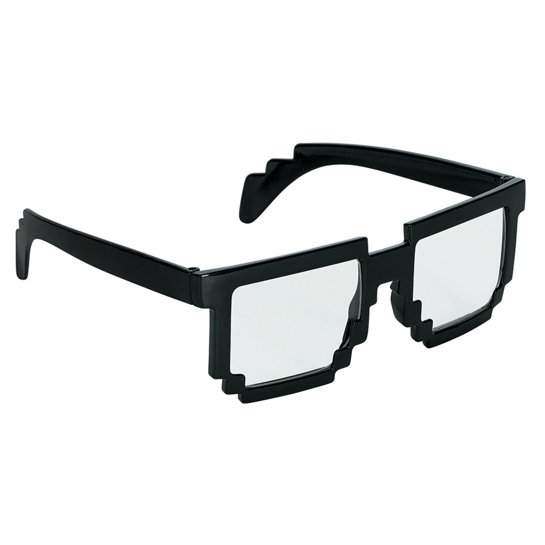 "Okulary ""Pixel"", czarne"