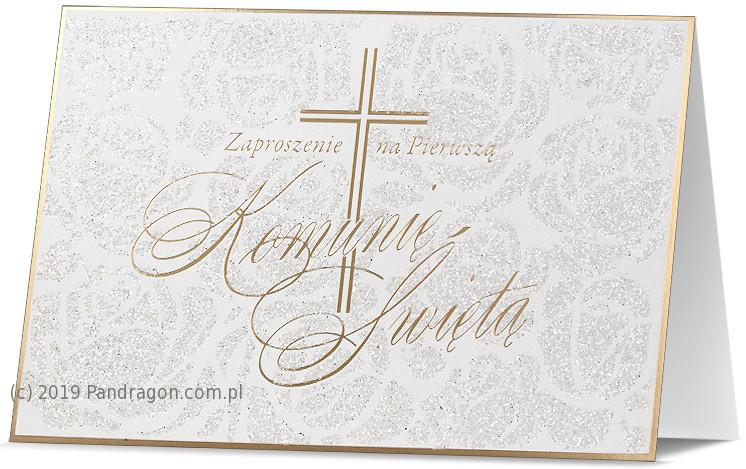 Zaproszenia Komunijne na I Komunię Świętą / Z.STAR-32