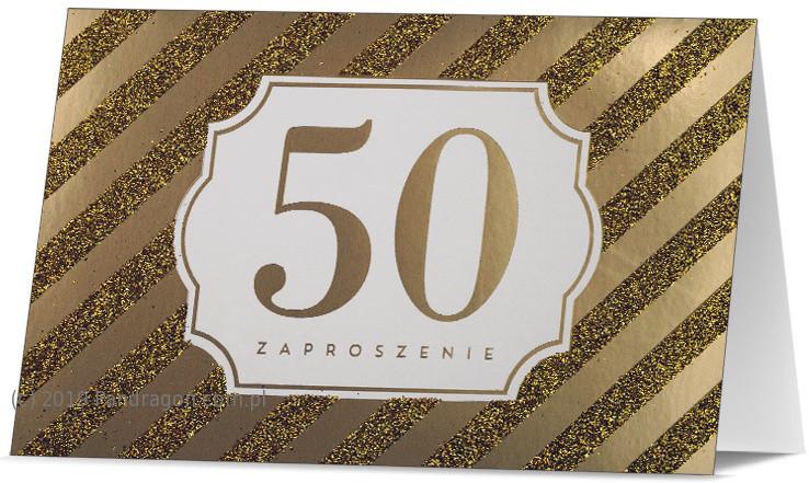 Zaproszenia na 50 Rocznicę Ślubu / Z.STAR-31