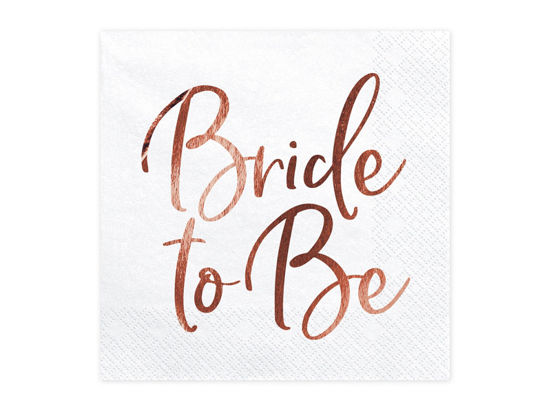 "Serwetki ""Bride to Be"" / SP33-76-019R"