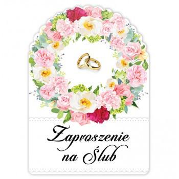 Zaproszenia ślubne / ZS1014