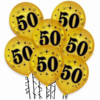 Balony na 50  urodziny / BAL36/6
