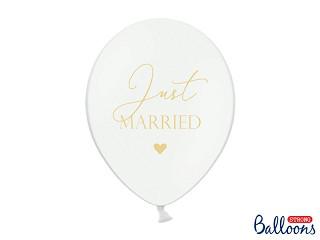 """Balony lateksowe """"Just Married"""" / SB14P-237-008 BBJM"""