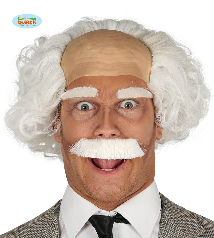 Peruka dziadka z wąsami / 4047