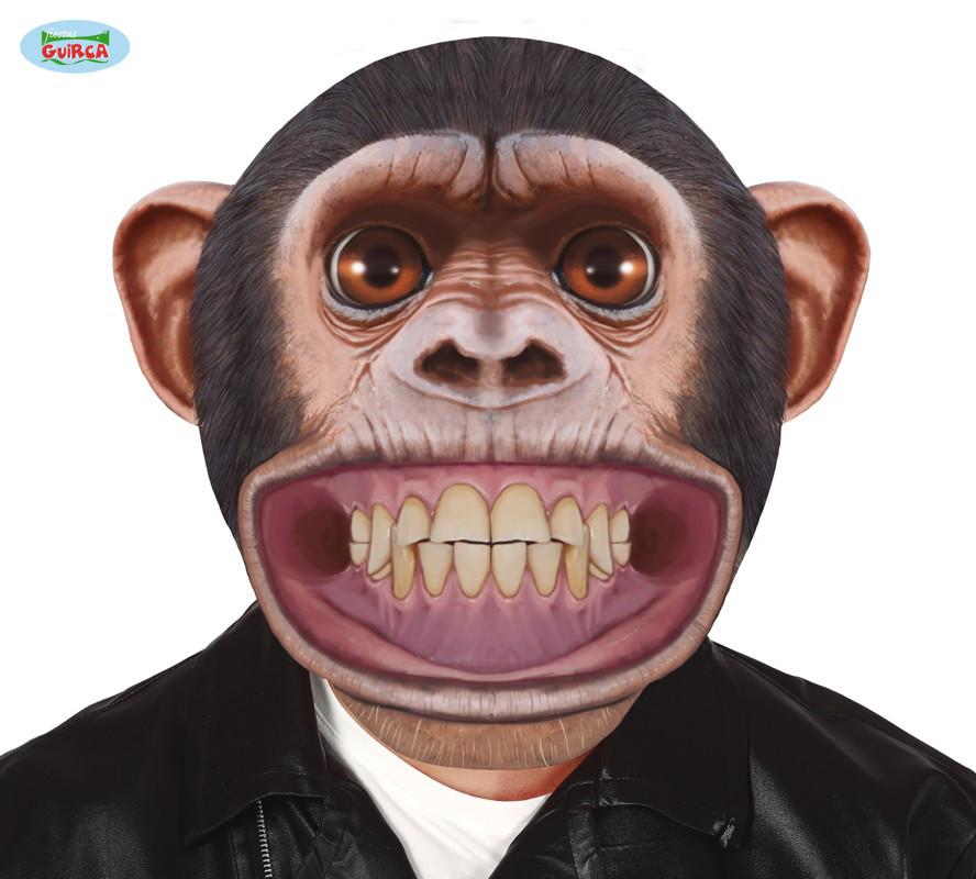 Gigantyczna maska Szympans
