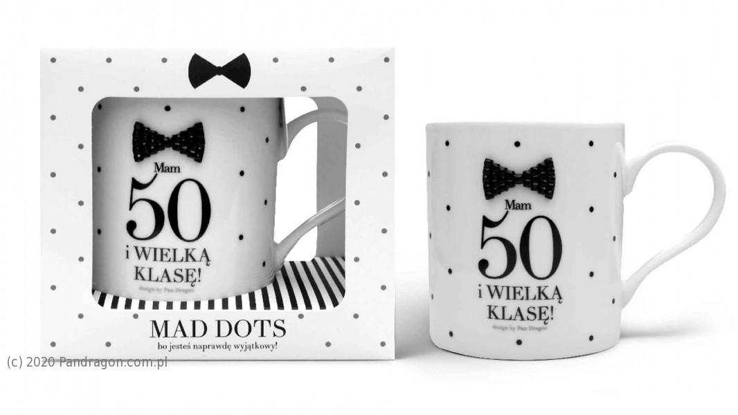 Kubek na 50 urodziny / Mad Dots