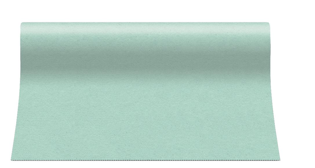 """Bieżnik flizelinowy Airlaid """"Soft Lace"""", mint / 40cmx24m"""