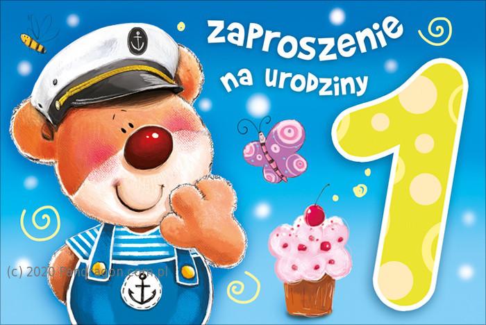 Zaproszenia na Roczek  / Z.C6-520