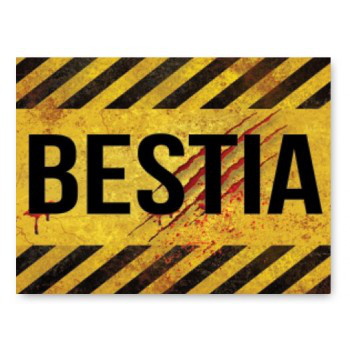 """Naklejki na buty """"Bestia"""" / NAK50"""