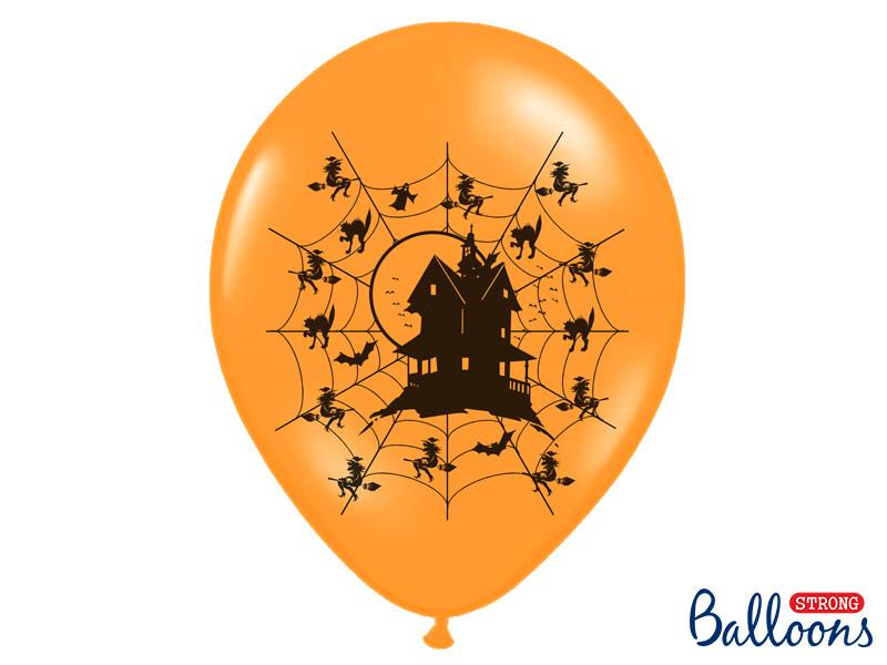 """Balony na Halloween """"Nawiedzony dom"""" / SB14P-118-005"""