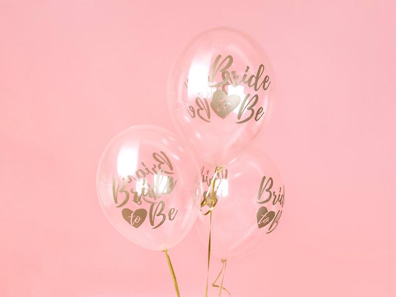 """Balony na panieński """"Bride to be"""" / SB14C-205-099G-6"""