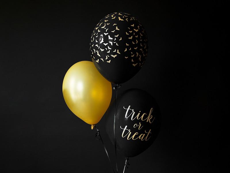"""Balony na Halloween """"Nietoperz"""" / SB14P-292-010-6"""