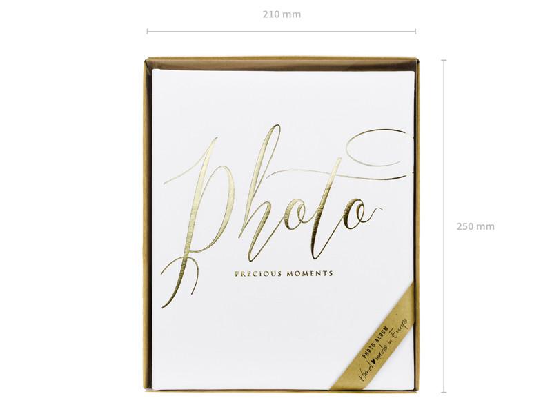 """Album na zdjęcia """"Precious Moments"""", biały"""