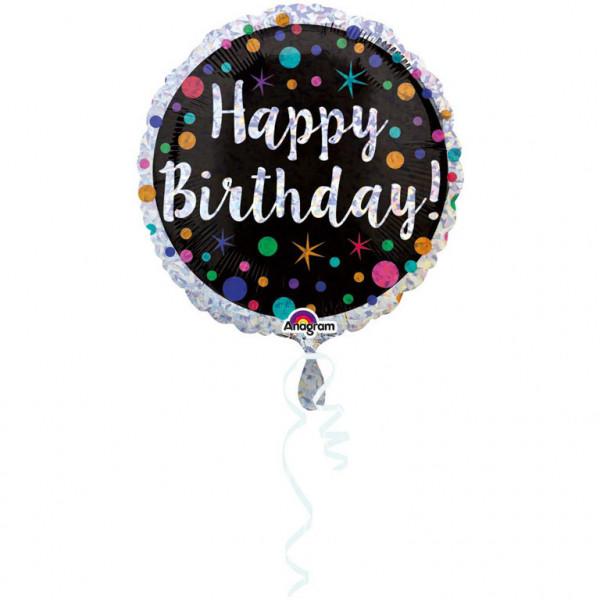 "Balon foliowy ""Happy Birthday"" / 45 cm / 345901"