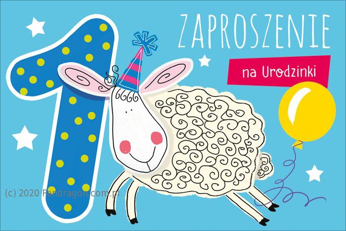 Zaproszenia na Roczek / Z.C6-652