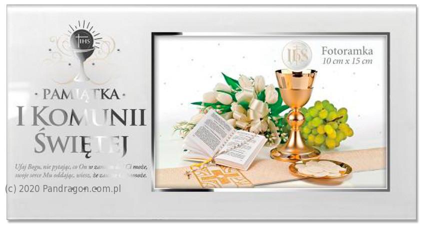 Ramka na zdjęcie pamiątka komunijna n I Komunię Świętą / Komunia 5