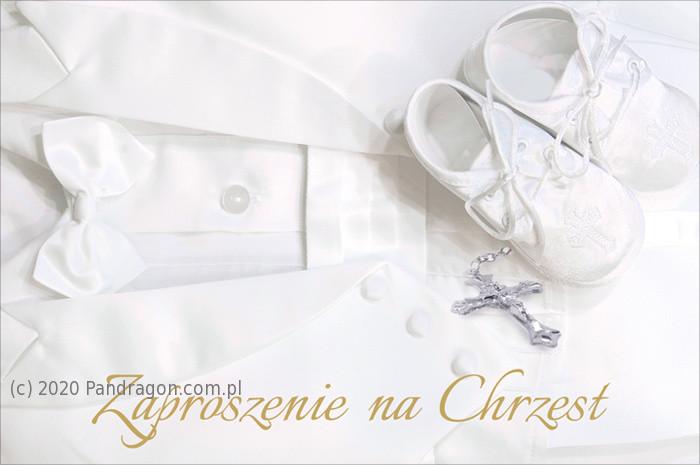 Zaproszenia na Chrzest Święty / Z.C6-515