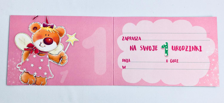 Zaproszenia na Roczek / Z.C6-519