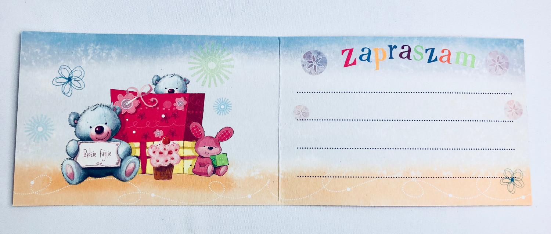 Zaproszenia na urodziny dziecka / Z.C6-426