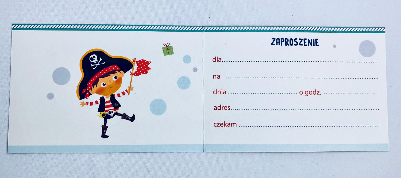 Zaproszenia na urodziny dziecka dla chłopca / Z.C6-643