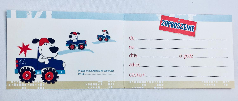 Zaproszenia na urodziny / Z.C6-589