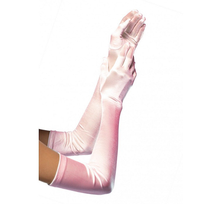 Rękawiczki jasnoróżowe / 16BP