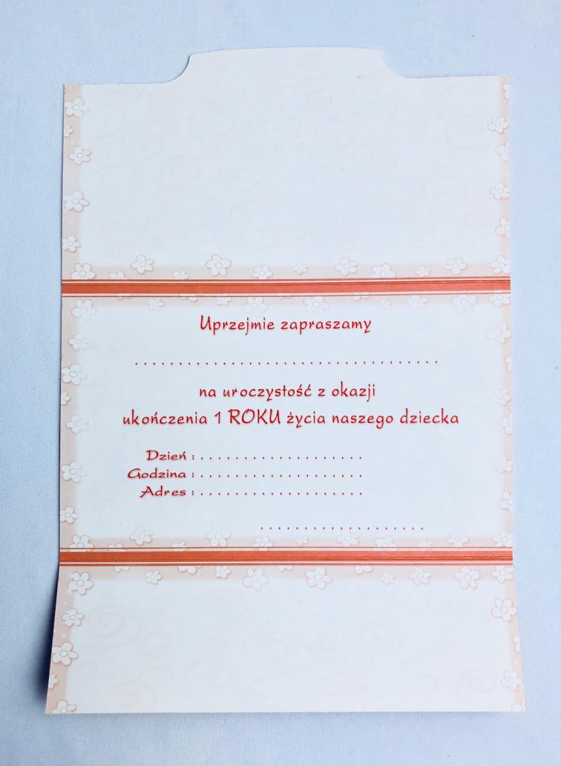 Zaproszenia na Roczek / MK-Z 233