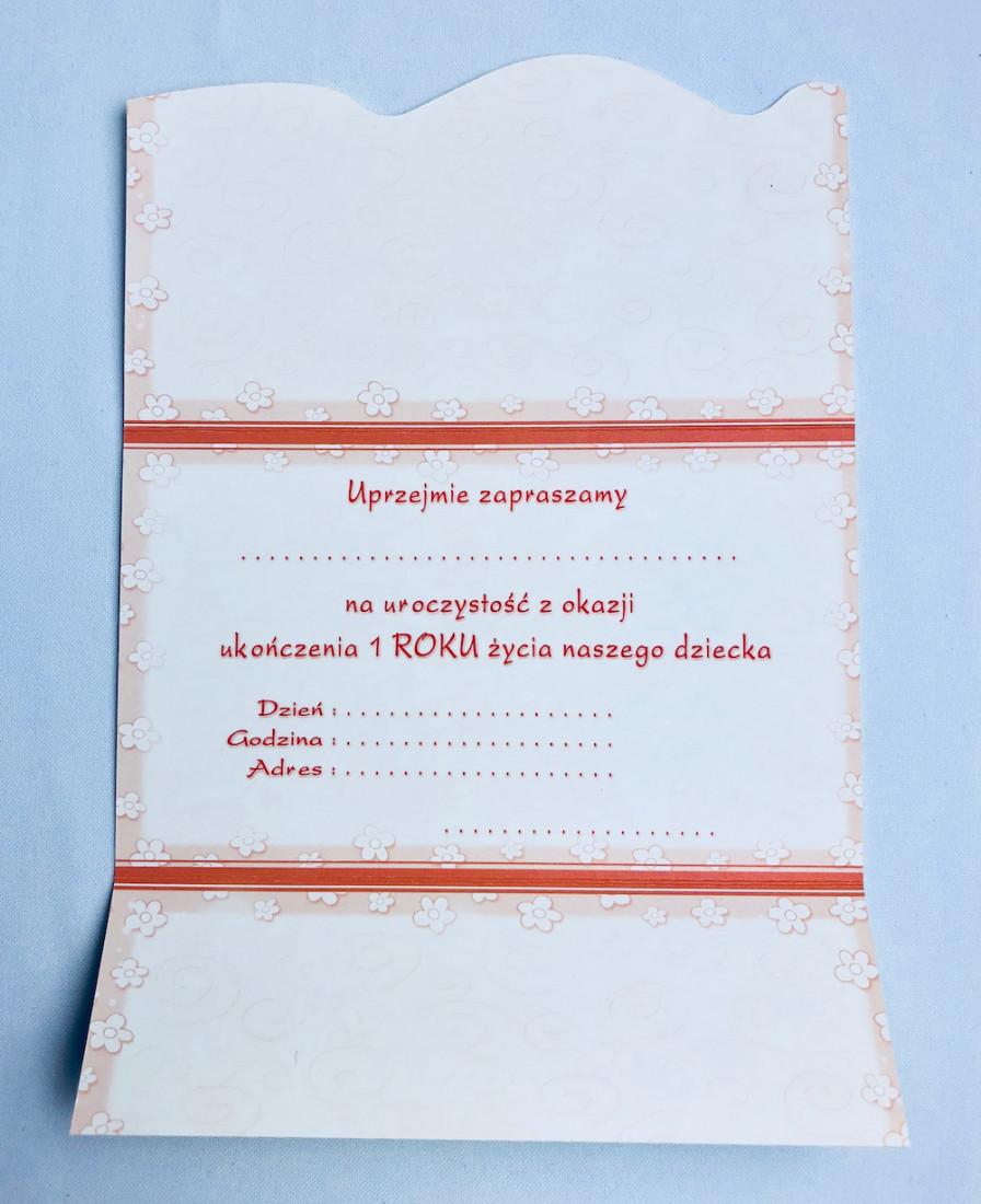 Zaproszenia na Roczek / MK-Z 235