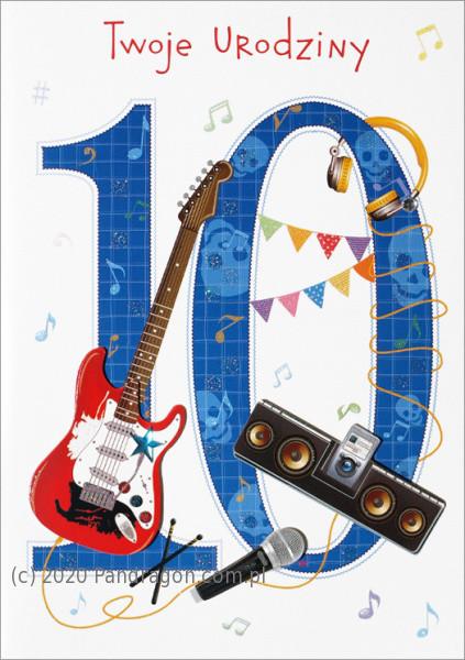 Kartka urodzinowa na 10 urodziny / HM-200-990