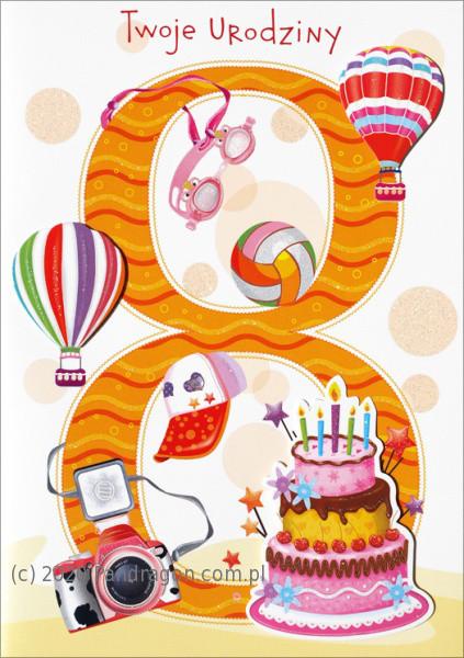 Karnet na 7 urodziny / HM-200-998