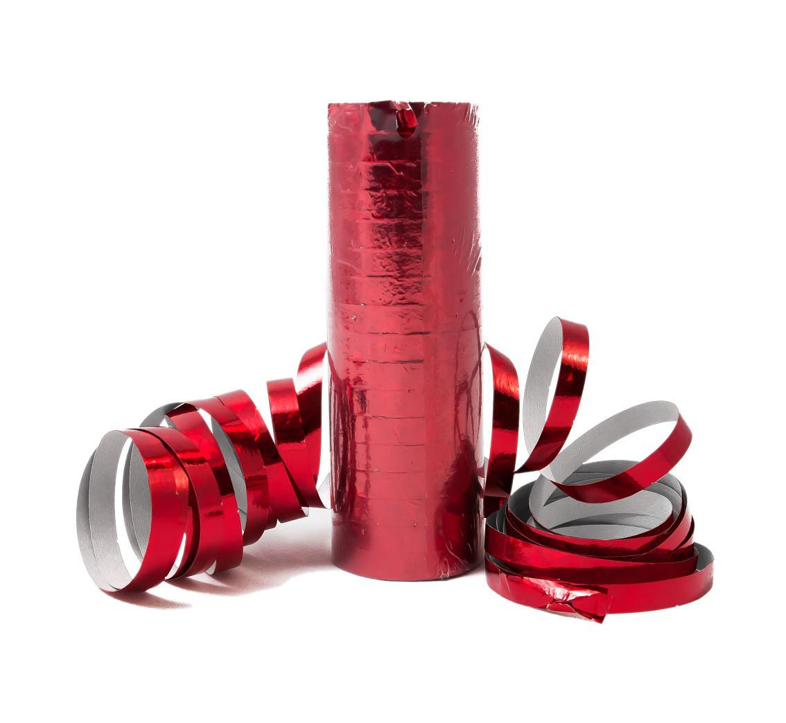 Serpentyna metalizowana czerwona / SH24CZ-VT