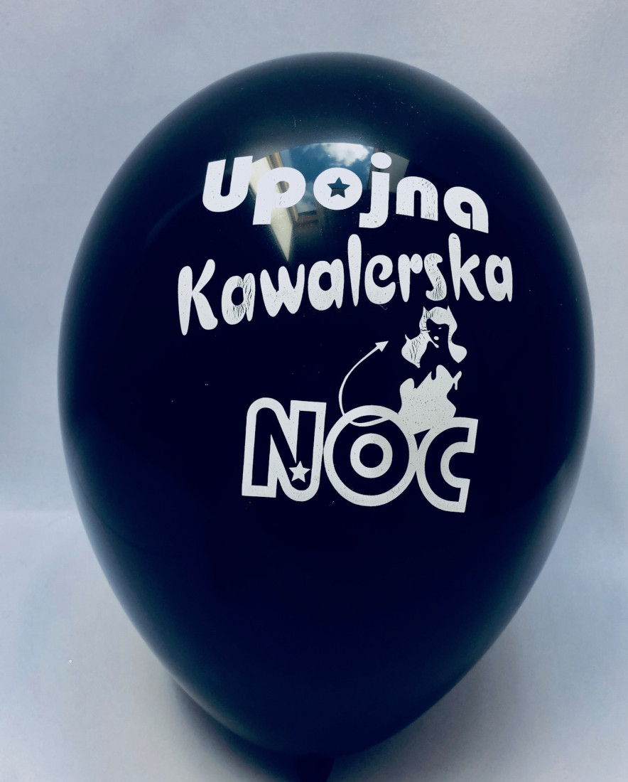 """Balony lateksowe """"Upojna Kawalerska Noc"""""""
