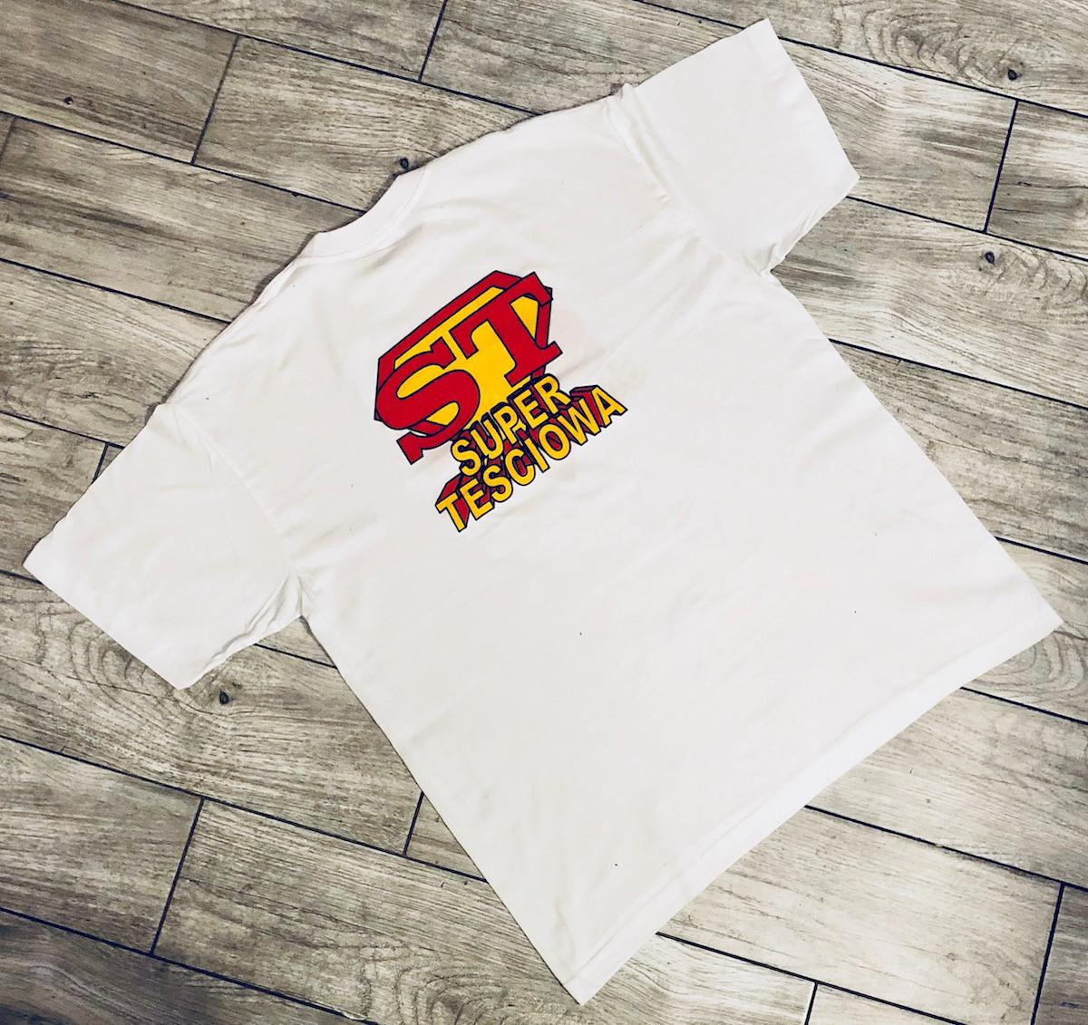 Koszulka Super Mama / Teściowa, rozm. L - WYPRZEDAŻ