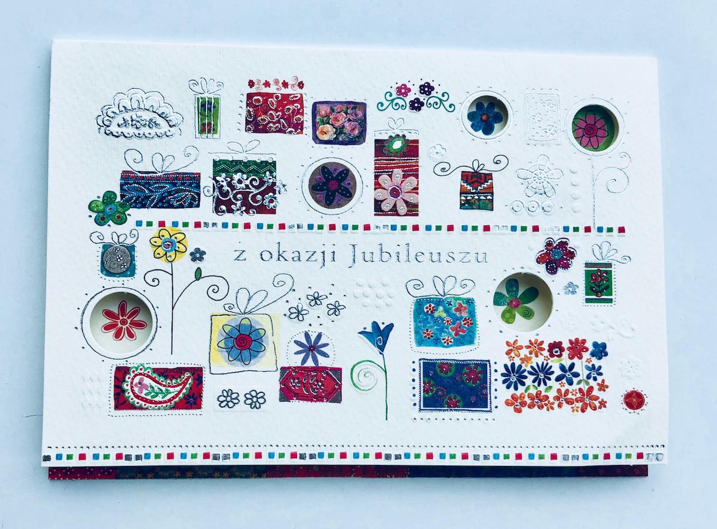 Kartka z Okazji Jubileuszu / 300884
