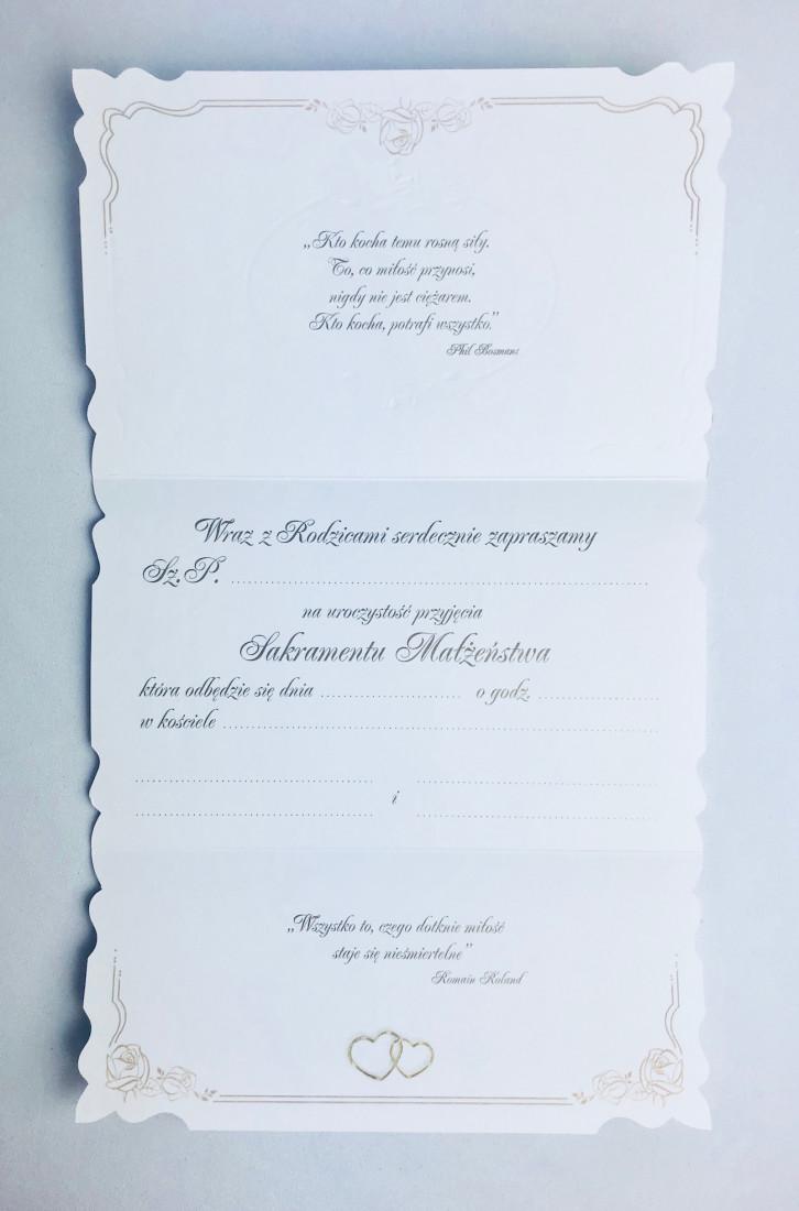 Zaproszenia Ślubne - WYPRZEDAŻ