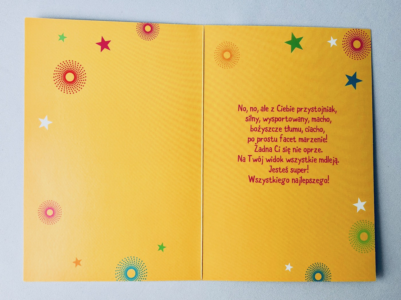 Karnet na urodziny / HM-200-1561