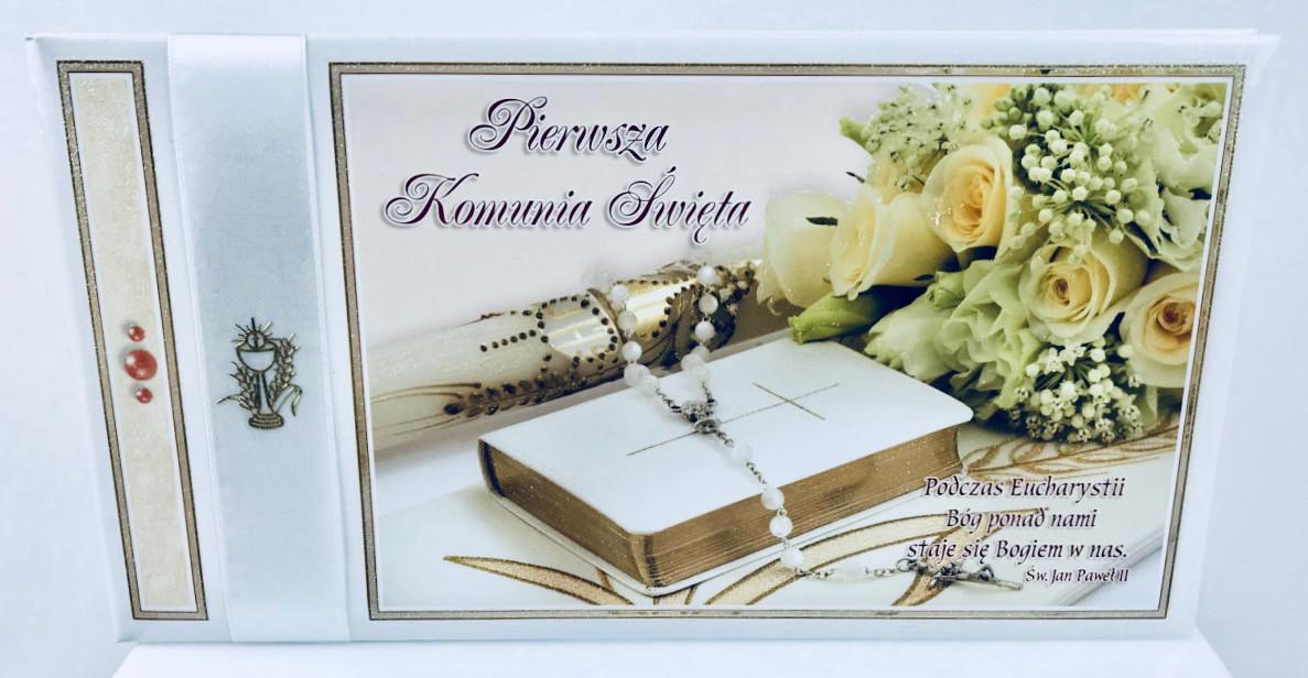 """Album na Komunię """"Pamiątka I Komunii Świętej"""" / K4B2"""