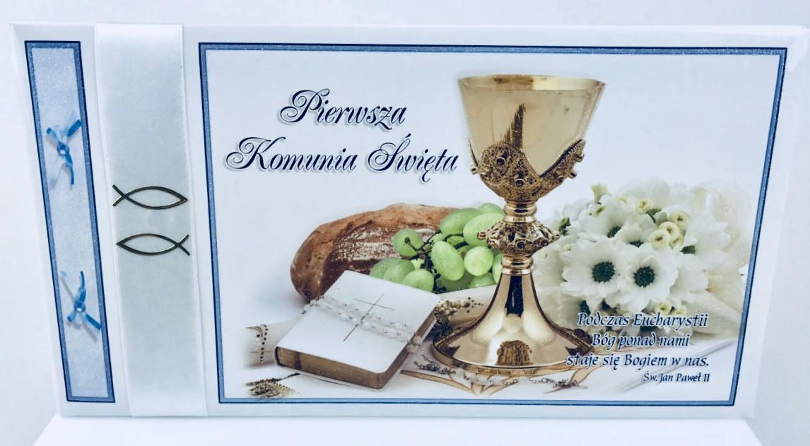 """Album na Komunię """"Pamiątka I Komunii Świętej"""" / K4N1"""
