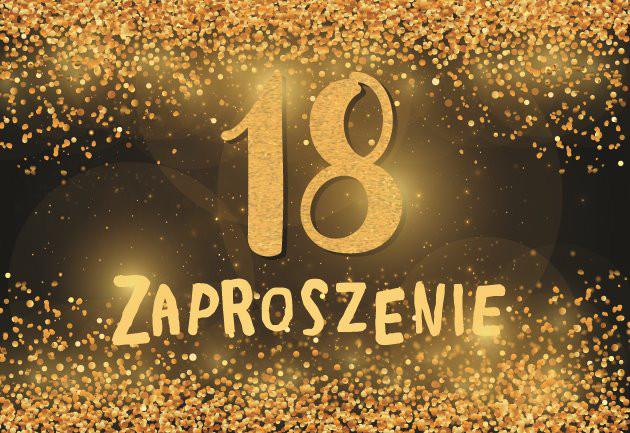 Zaproszenia na osiemnastkę / ZZ-082